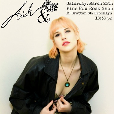 Ariah & at Pine Box Rock Shop