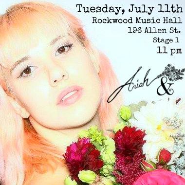 Ariah & at Rockwood Music Hall