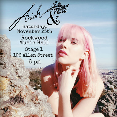 Ariah & at Rockwood Music Hall
