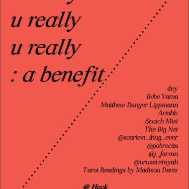 u really u really u really: a benefit